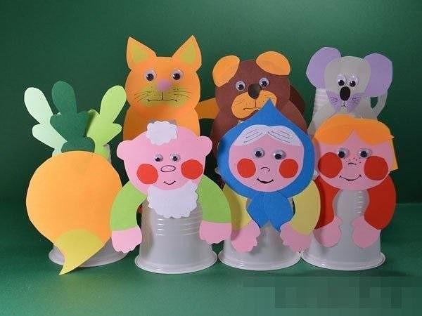 Поделки для детского сада из пластиковых стаканчиков